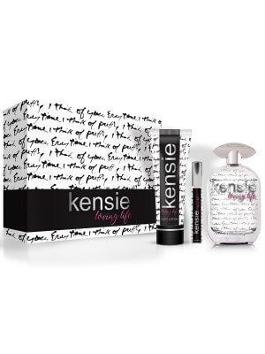 kensie Loving Life 3 Piece Gift Set